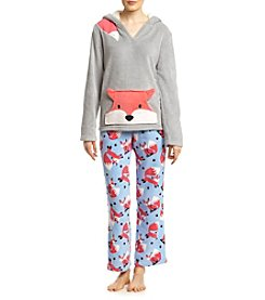 PJ Couture® Hooded Pajama Set