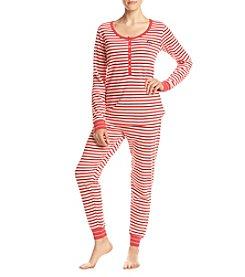 Tommy Hilfiger® Printed Thermal Pajama Set