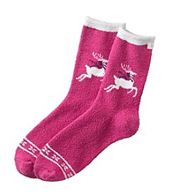 KN Karen Neuburger Fleece Lounge Socks
