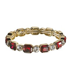 Anne Klein® Stone Stretch Bracelet