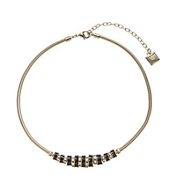 Anne Klein® Roundel Frontal Necklace