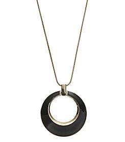 Anne Klein® Long Pendant Necklace