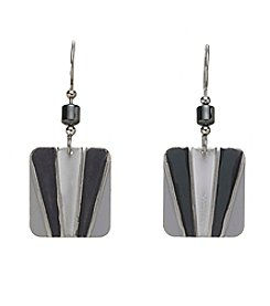 Silver Forest® Square Earring