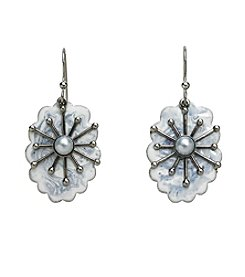 Silver Forest® Snowflake Earrings