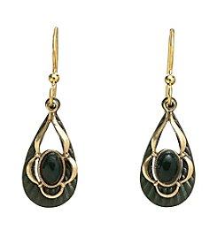 Silver Forest® Vintage Jade Earrings