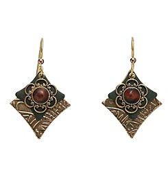 Silver Forest® Vintage Rhombus Earrings