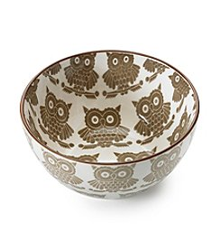 Pfaltzgraff® Everyday Owl Cereal Bowl