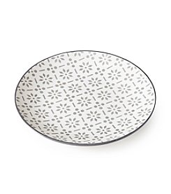 Pfaltzgraff® Everyday Geometric Appetizer Plate