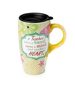 LivingQuarters Teacher  Latte Mug