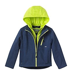 Hawke & Co. Boys' 4-7 Softshell Vestee Jacket
