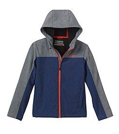 Hawke & Co. Boys' 8-20 Softshell Colorblock Jacket