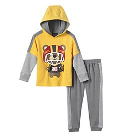 Nannette® Boys' 2T-4T 2-Piece Little Sport Hoodie Set