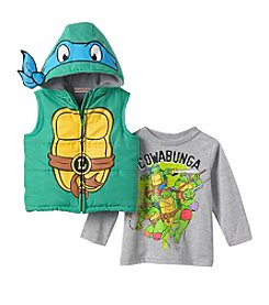 Teenage Mutant Ninja Turtles® Boys' 2T-4T 2-Piece Leonardo Vest Set