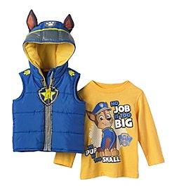 Paw Patrol Boys' 2T-4T 2-Piece Paw Patrol Vest Set