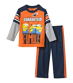 Despicable Me® Boys' 2T-7 2-Piece Guaranteed Fumble Tee Set