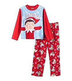 Elf on the Shelf® Boys' 4-10 2-Piece Let It Snow Pajama Set