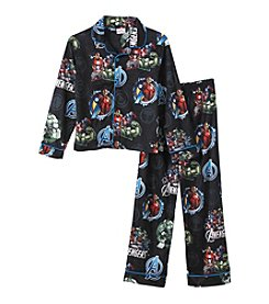 Marvel® Heroes Boys' 4-10 2-Piece Avengers™ Power Pajama Set
