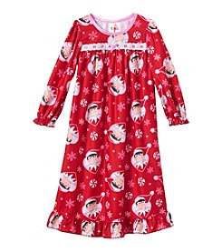 Elf on the Shelf® Girls' 2T-4T Elf Nightgown