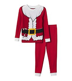 Komar Kids® Boys' 2T-4T 2-Piece Santa Pajama Set