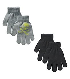 Mambo® Boys' 2-Pack Print & Solid Magic Gloves