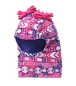 Miss Attitude Girls' 4-16 Warm Printed Fleece Balaklava