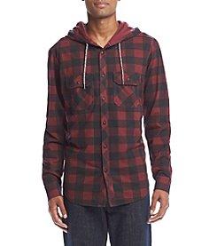 Ocean Current® Men's Buffalo Plaid Hooded Jacket