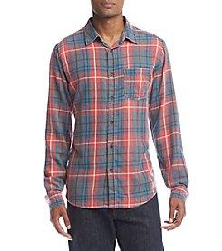 Ocean Current® Men's Freemont Plaid Burnout Flannel Button Down Shirt
