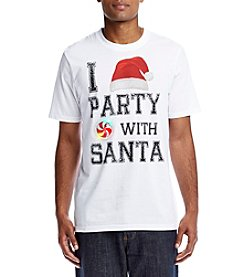Seven Oaks Men's Party with Santa Light Up Tee