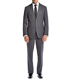 REACTION Kenneth Cole Men's Techni-Cole Grey Suit