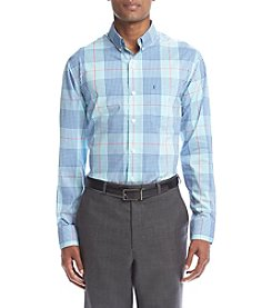 Izod® Men's Button Down Poplin Shirt