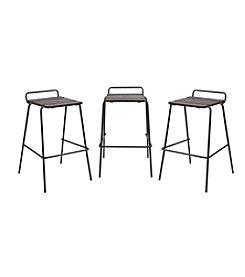 Lumisource® Set of 3 Blake Barstools