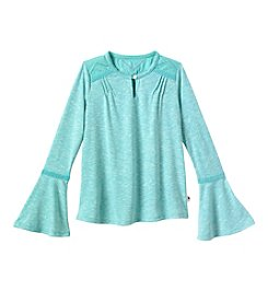 Lucky Brand® Girls' 7-16 Solid Peasant Top