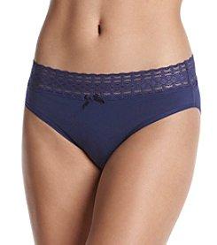 Relativity® Lace Waist Hi-Cut Panty