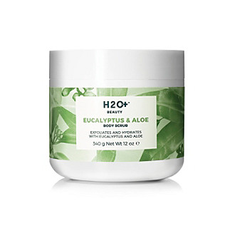 H2O Plus Eucalyptus & Aloe Body Scrub plus size,  plus size fashion plus size appare