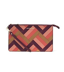 MICHAEL Michael Kors® Daniela Large Marquetry Patchwork Leather Wristlet