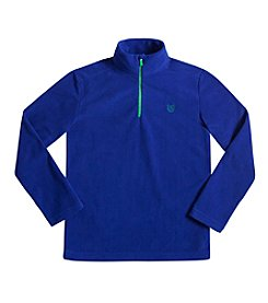 Chaps® Boys' 8-20 1/4-Zip Fleece Pullover Sweater