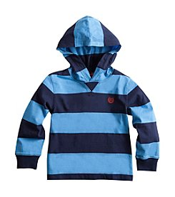 Chaps® Boys' 2T-7 Rugby Striped Hoodie