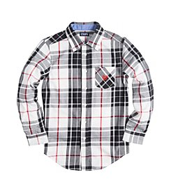 Chaps® Boys' 8-20 Long Sleeve Twill Shirt