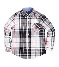 Chaps® Boys' 2T-7 Long Sleeve Twill Shirt