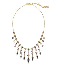 Jessica Simpson Stone Drop Drama Necklace