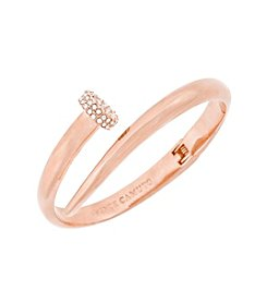 Vince Camuto™ Rose Goldtone Flat Nail Head Hinged Cuff Bracelet