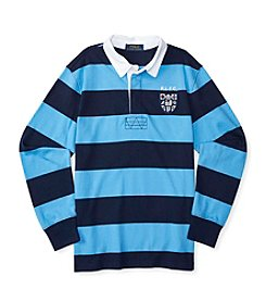 Polo Ralph Lauren® Boys' 2T-7 Long Sleeve Striped Rugby Shirt