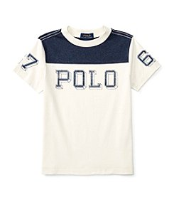 Polo Ralph Lauren® Boys' 2T-7 Short Sleeve Graphic Tee