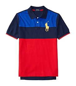 Polo Ralph Lauren® Boys' 2T-7 Short Sleeve Novelty Polo