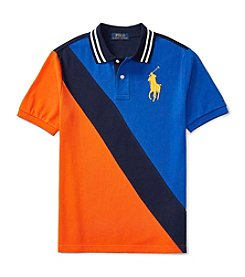 Polo Ralph Lauren® Boys' 2T-7 Short Sleeve Banner Polo