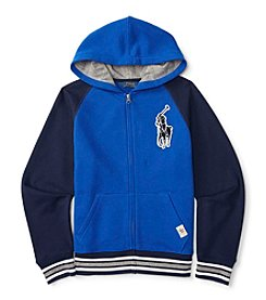 Polo Ralph Lauren® Boys' 2T-7 Full-Zip Hoodie