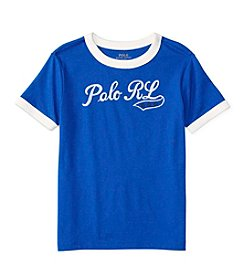 Polo Ralph Lauren® Boys' 2T-7 Short Sleeve Ringer Tee