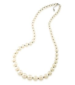 Carolee® Faux Pearl Graduated Necklace