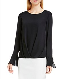 Vince Camuto® Fluttered Cuff Blouse