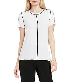 Vince Camuto® Back Zip Blouse